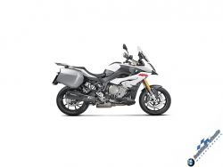 Slip-On BMW S1000XR (2017) Black Series / Titanium Exhaust EURO4