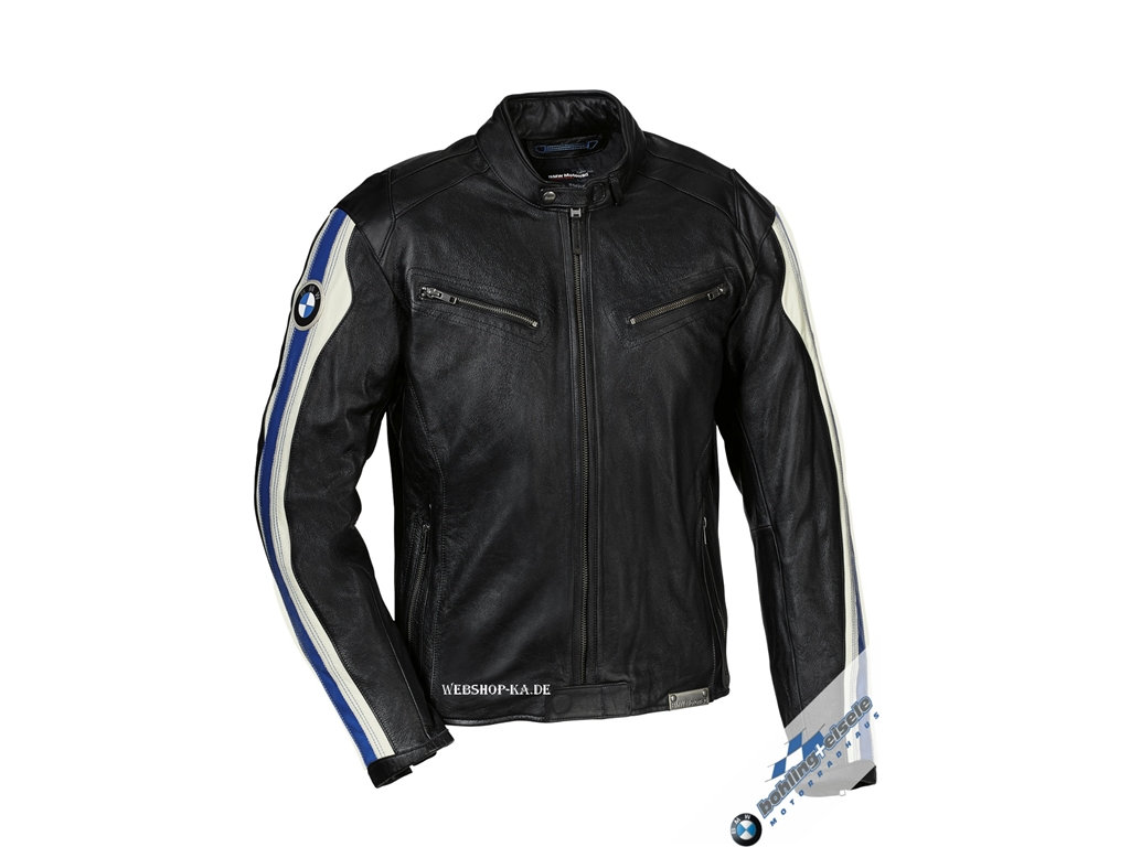 motorradjacke club leder herren bmw. Black Bedroom Furniture Sets. Home Design Ideas